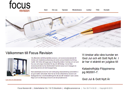 Focus Revision