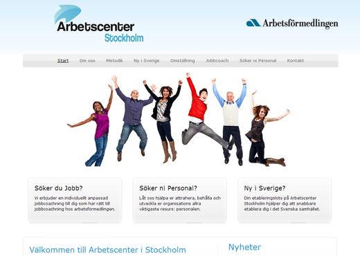 Arbetscenter i Stockholm